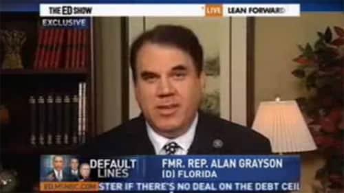 Alan Mark Grayson- Former U.S. Representative for Florida's 8th congressional district