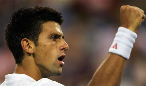 Novak Djokovic- number one men's tennis player in the world- Serbian