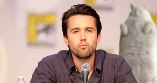Rob McElhenney (Mac) on the FX TV series It's Always Sunny in Philadelphia