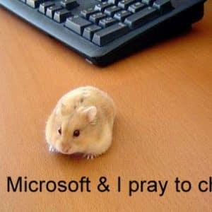 Funny Spiritual Mouse Hate Microsoft Love APPLE