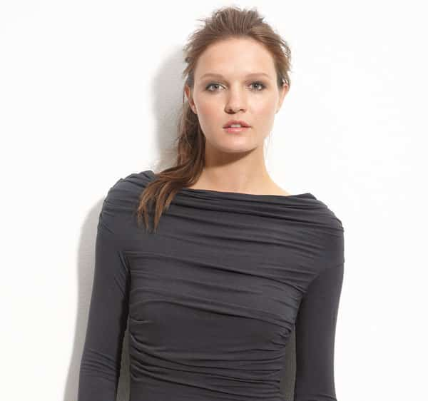 Bailey-44-Ruched-Boat-Neck-Tunic