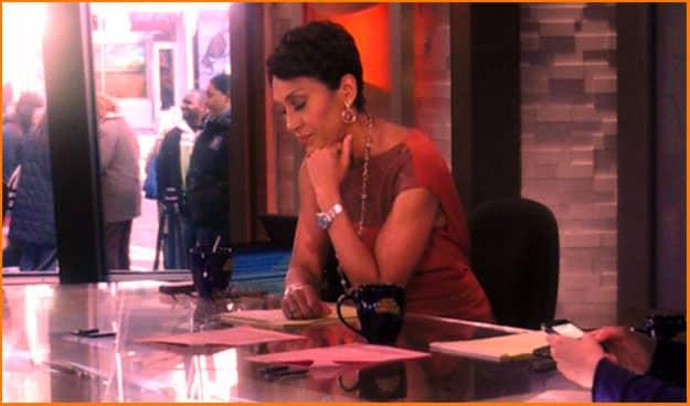 TV Anchor Robin Roberts