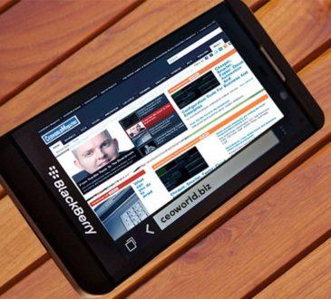 CEOWORLD Magazine - BlackBerry Z10