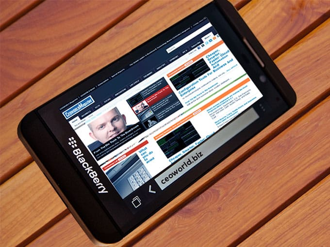 CEOWORLD Magazine - BlackBerry Z10