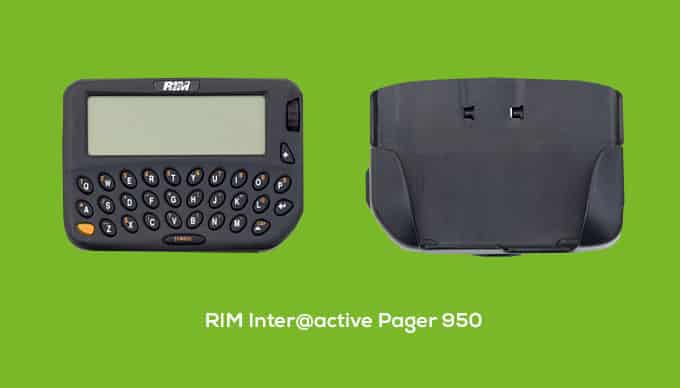 RIM Inter@active Pager 950