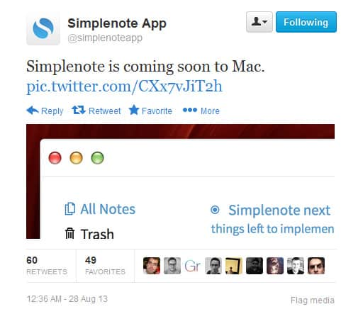 Simplenote-mac-twitter
