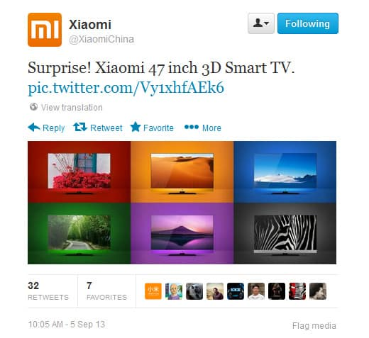 Xiaomi-twitter