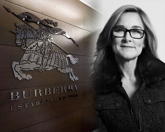 Angela Ahrendts ceo Burberry