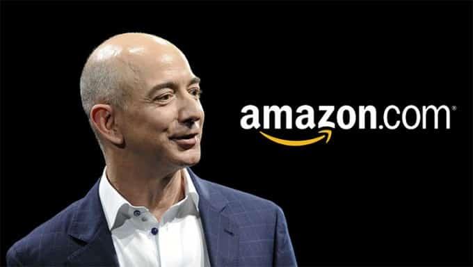 Jeff Bezos CEO at Amazon.com