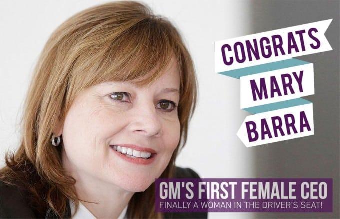 Mary Barra CEO at GM