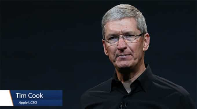 Tim Cook CEo at Apple