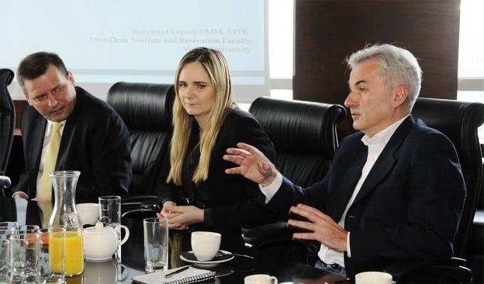 High Level Executives Meeting Milena Golda CEOWORLD Magazine
