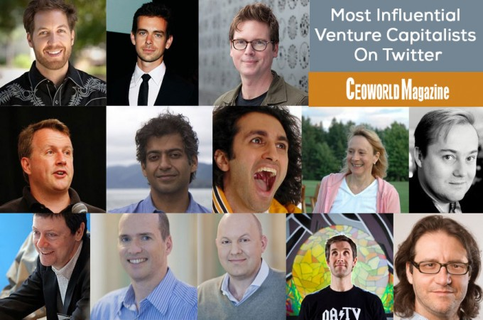 Most Influential Venture Capitalists On Twitter