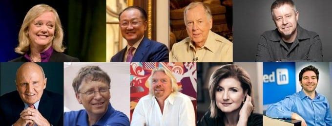 TOP CEOS on LinkedIn