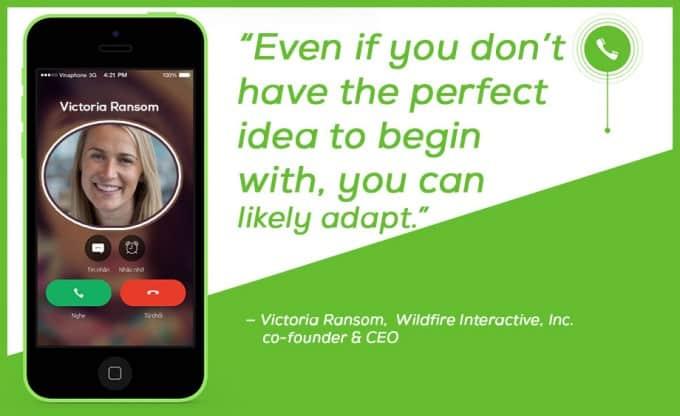 Victoria Ransom, Wildfire Interactive, Inc. co-founder & CEO