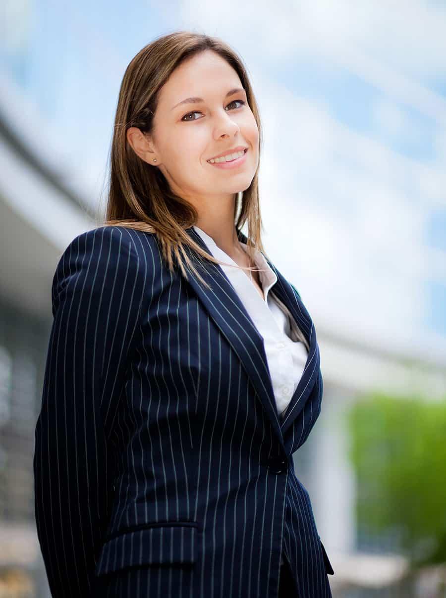 Business Woman Young beautiful