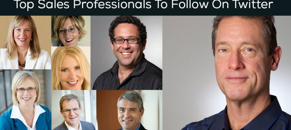 Top Sales Professionals To Follow On Twitter For The Latest Trends, Tips And Ideas