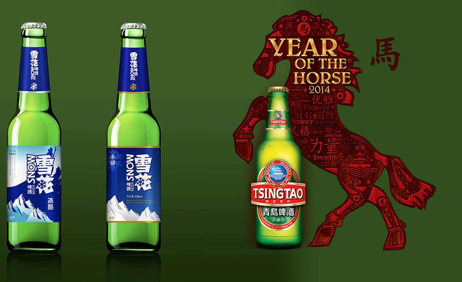 Tsingtao-and-Snow-beer-china