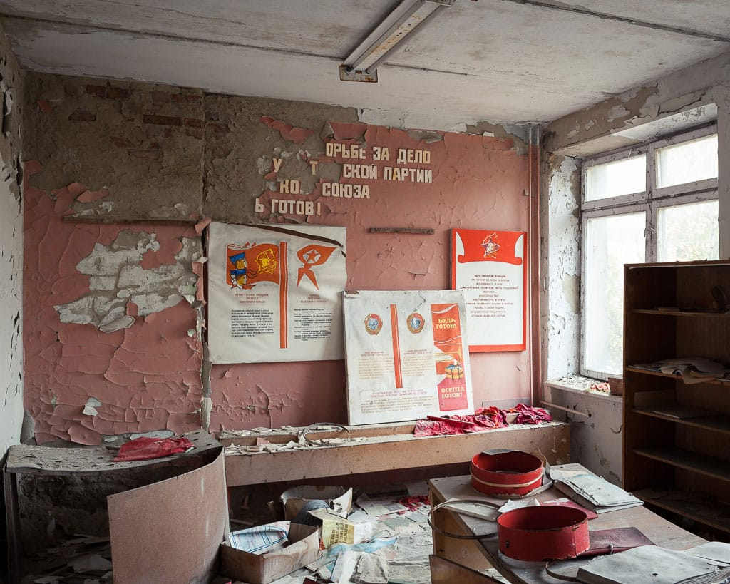 Abandoned Schools of Pripyat Ukraine
