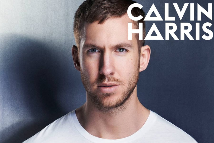 Scottish DJ Calvin Harris