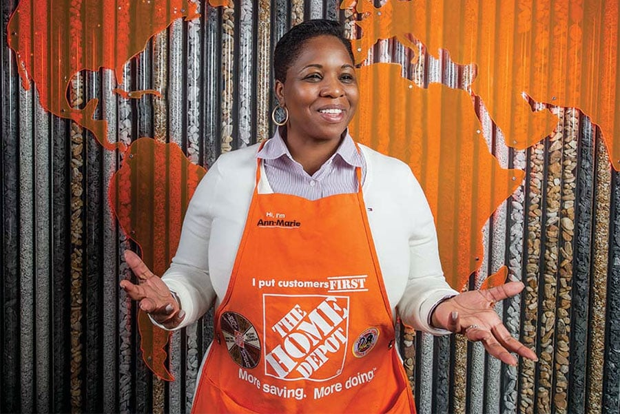 Ann Marie Campbell at Home Depot