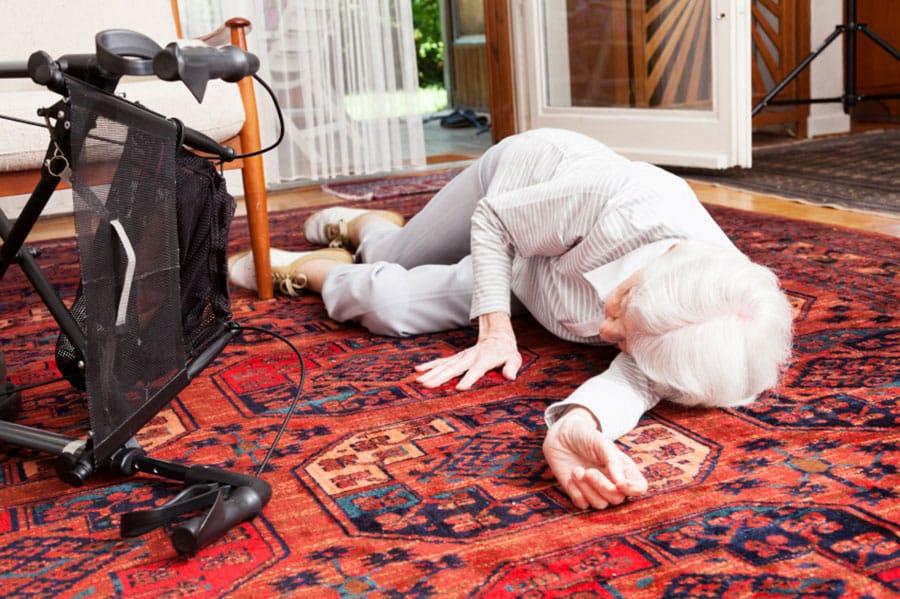Falls and Injury Seniors and Elderly