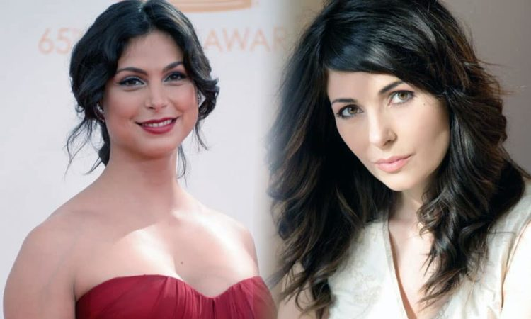 Morena Baccarin and Silvia Colloca