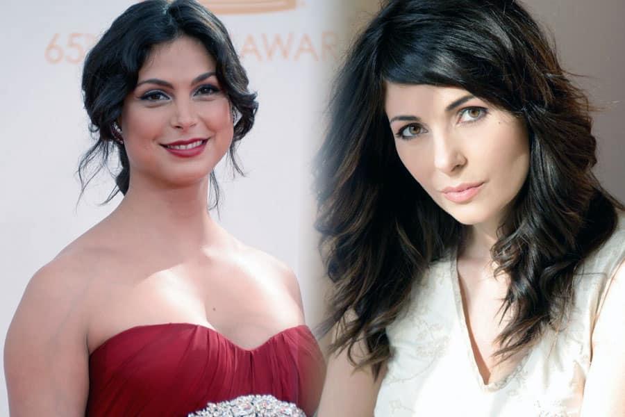 Morena Baccarin and Silvia Colloca