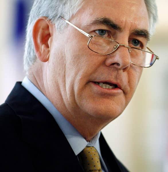 Rex W. Tillerson CEO at Exxon Mobil