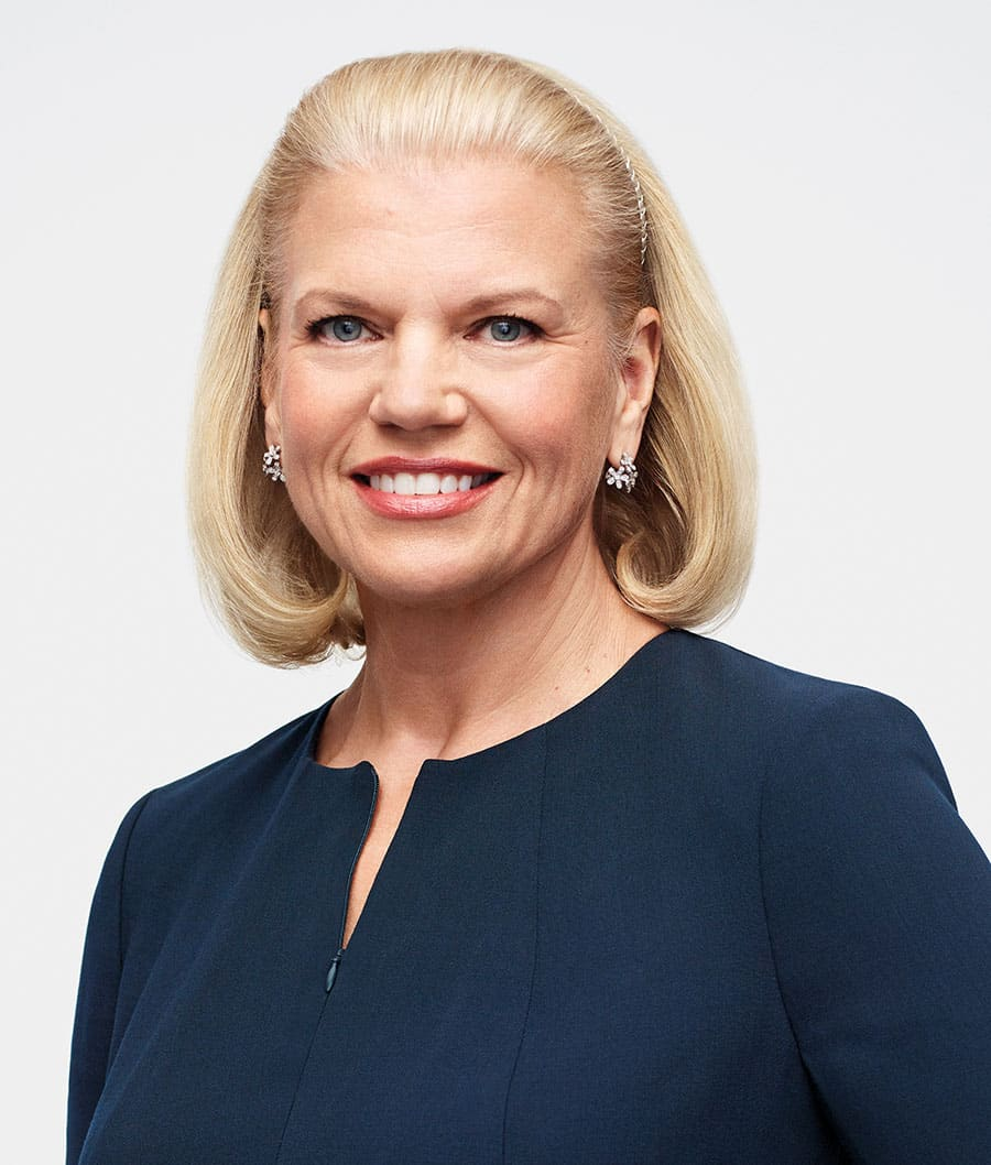 Virginia M. Rometty CEO IBM