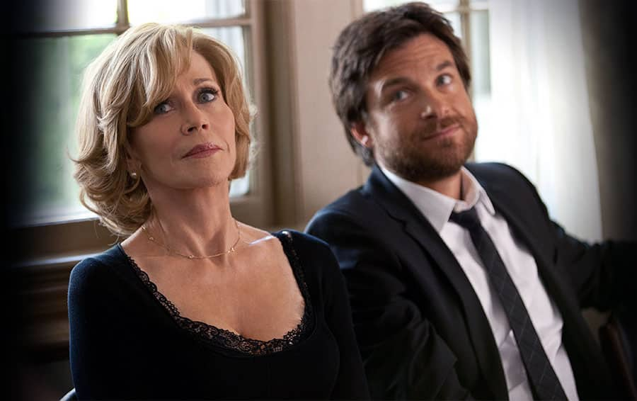 Jane Fonda with Jason Bateman