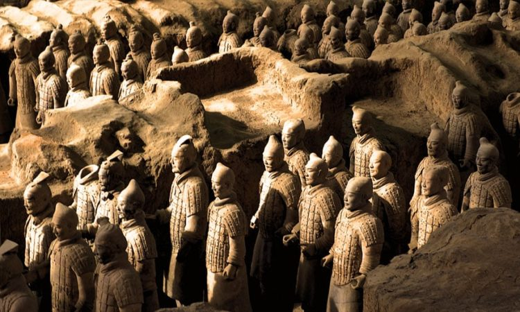 Terracotta Warriors of Qin Shihuang