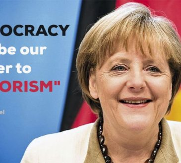 Angela Merkel - Democracy must be our answer to terrorism