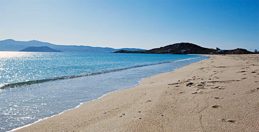 Agios Prokopios Beach has been named 10th best beach in Greece for 2015