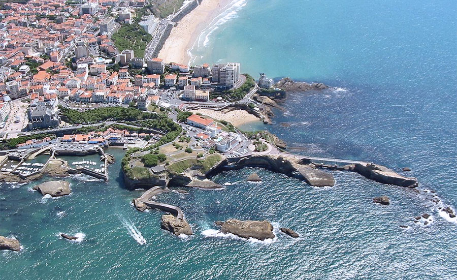 Biarritz beach France ranked No. 1 most Beautiful Beaches In France 2015
