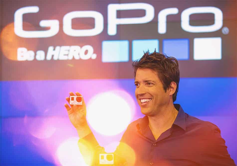 Nick Woodman, GoPro CEO