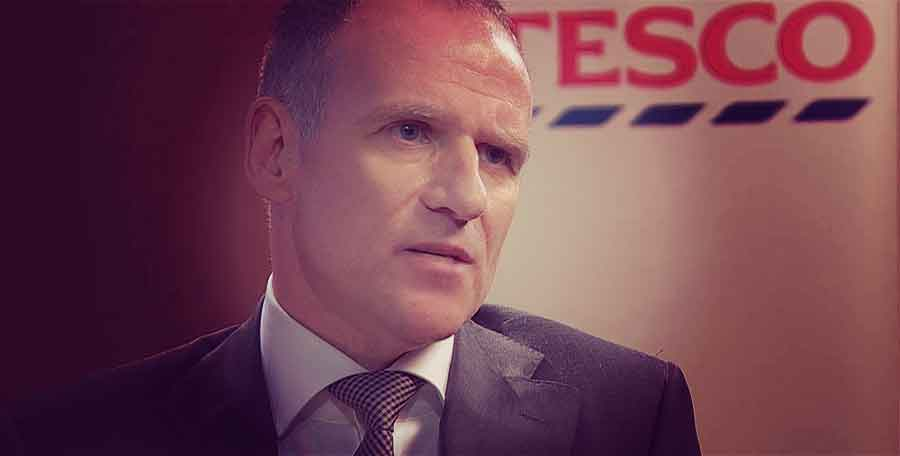 Dave Lewis, the CEO of Tesco