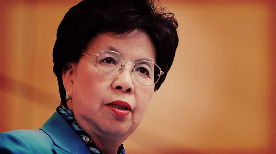 Dr. Margaret Chan, World Health Organization director