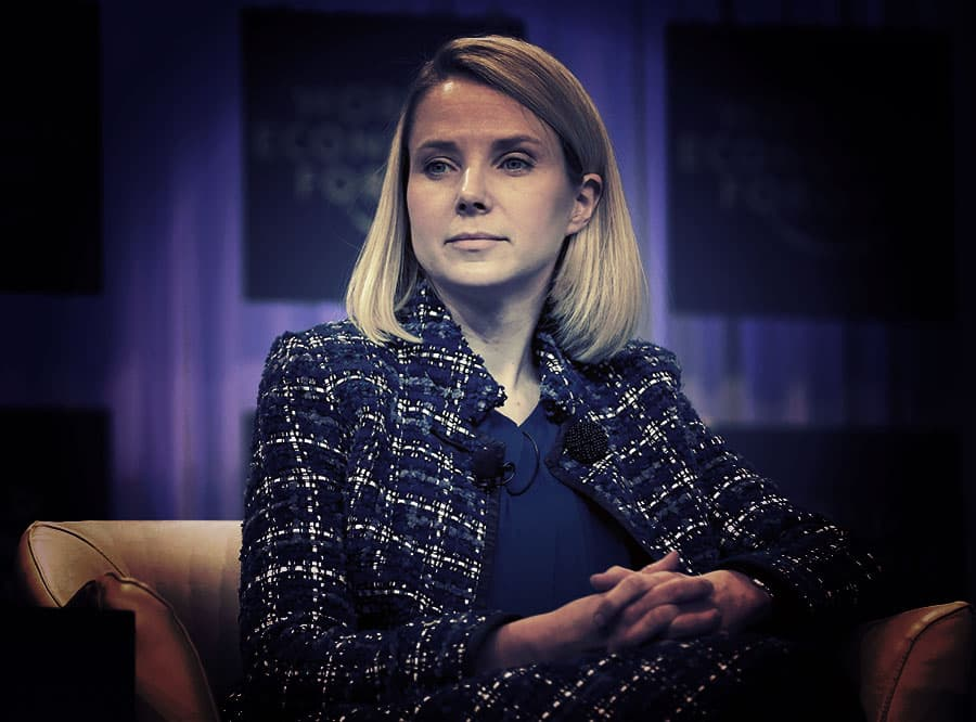 Marissa Mayer, president and CEO of Yahoo!