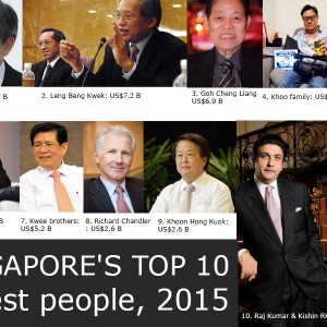 Singapore's Top 28 Richest People By Net Worth In 2015: Singaporean Billionaires