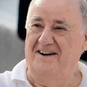 Amancio Ortega is now the second-richest man in the world, surpassing even Warren Buffet
