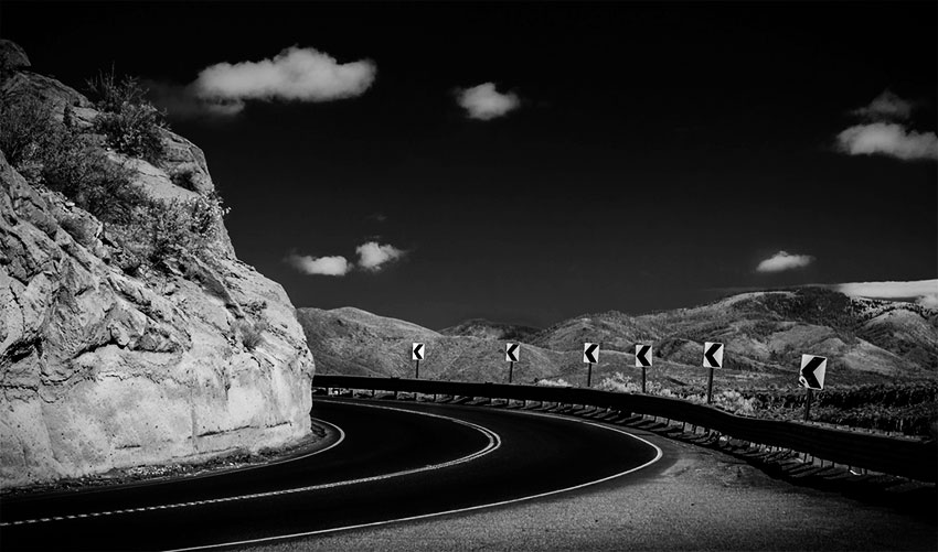 Mountain Road Turns