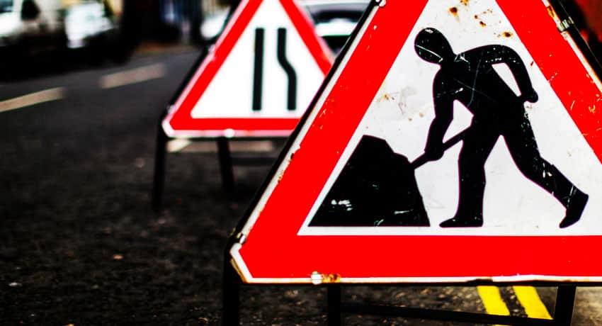 Road sign near Bristol