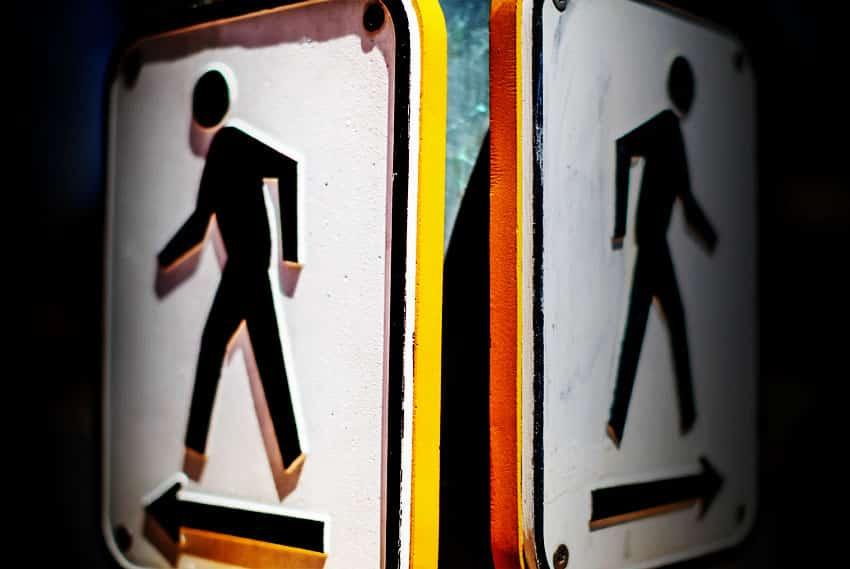 Walk Left Walk Right