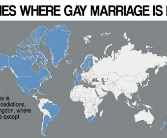 List of countries where same-sex marriage is legal