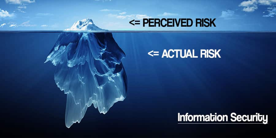 Information Security: Perceived Risk vs. Actual Risk