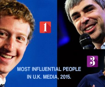 25 Most Influential People In UK Media, 2015 List
