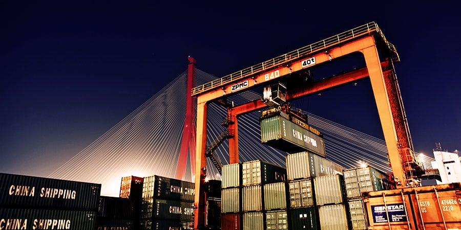 China Shipping Cargo Boxes