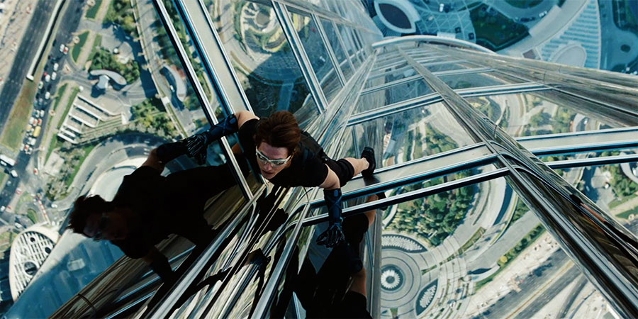 Tom Cruise On The Burj Khalifa