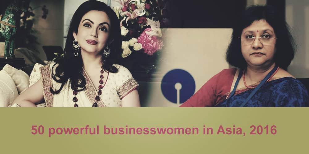 50 most powerful businesswomen in Asia 2016